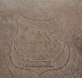 Emblema imperial da liga de Austrália para soldados e aviadores retornados dos marinheiros fotos de stock royalty free