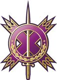 Emblema militar del estilo Imagen de archivo