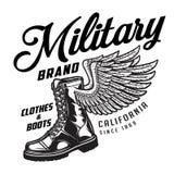 Emblema militar do tipo do fato Imagens de Stock Royalty Free