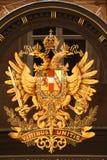 Emblema monárquico austro-Hungarian Imagens de Stock