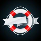 Emblema náutico Fotos de Stock Royalty Free