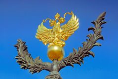 Emblema nacional de la Federación Rusa Foto de archivo