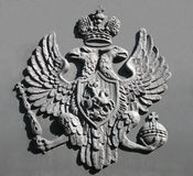 Emblema nacional do russo Imagens de Stock Royalty Free