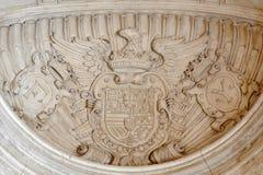 Emblema nazionale della Spagna illustrazione vettoriale