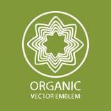 Emblema orgánico abstracto del vector libre illustration