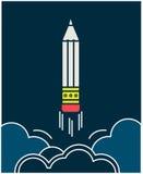 Emblema pensil-copywriting do vetor Fotos de Stock Royalty Free