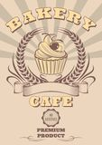 Emblema per cuocere e l'insieme di pane royalty illustrazione gratis