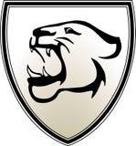 Emblema predatore Fotografie Stock
