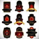 Emblema real ilustração royalty free