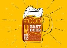 Emblema tirado mão de Oktoberfest Foto de Stock Royalty Free
