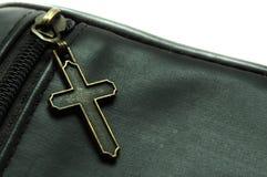 Emblema transversal Fotografia de Stock