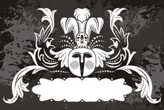 Emblema tribale della mascherina illustrazione vettoriale