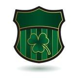 Emblema verde Stock de ilustración