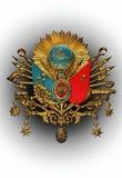 Emblema viejo del imperio otomano Foto de archivo