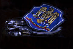 Emblemapolitia Royalty-vrije Stock Foto