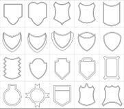 Emblemas Fotografia de Stock