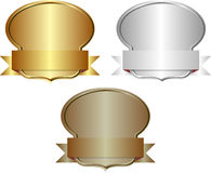 emblemas Fotografia de Stock Royalty Free