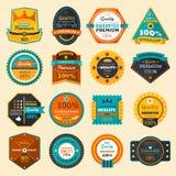 emblemas Fotos de Stock Royalty Free