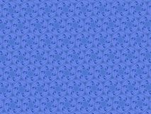 Emblemas azuis circundados Digitas fotos de stock royalty free