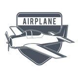 Emblemas del aeroplano del vintage Imagenes de archivo