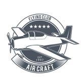 Emblemas del aeroplano del vintage Fotografía de archivo
