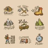 Emblemas del alza Imagen de archivo