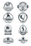 Emblemas del tenis Imagen de archivo