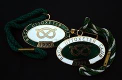 Emblemas do clube da sociedade Foto de Stock