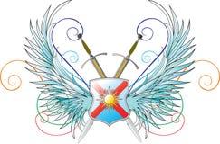 Emblemas do vetor. Imagens de Stock