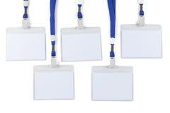 Emblemas em branco Imagem de Stock Royalty Free
