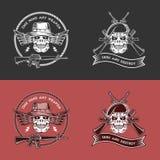 Emblemas militares Fotografía de archivo