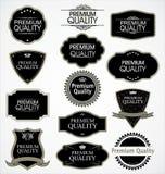 Emblemas superiores da qualidade Fotos de Stock