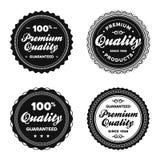 Emblemas superiores da qualidade do vintage Imagem de Stock