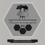 Emblemat dla honey9 ilustracji