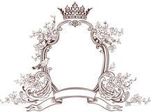 emblemat fantazja kwiecista Zdjęcia Stock