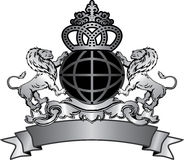 emblemat ilustracja Fotografia Stock