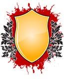 emblemata abstrakcyjne blackground grunge floralelements wektora Zdjęcia Royalty Free