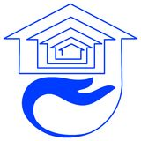 emblemata budynki mieszkalne Zdjęcie Stock