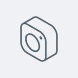 Emblemata instagram ilustracja wektor