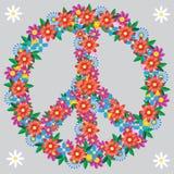 Emblemata pacyfista nurkujący pokój Zdjęcia Stock