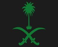 emblemata saudyjczyk Obrazy Stock