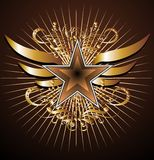 emblemata wektor Zdjęcie Royalty Free