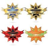 emblemata wysokiej jakości wektor Obrazy Royalty Free