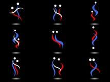 Emblemen vector illustratie