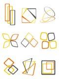 Emblemen stock illustratie