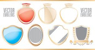 Emblemen & emblemen Stock Afbeelding