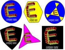 emblemen voor boekmerk Royalty-vrije Stock Fotografie