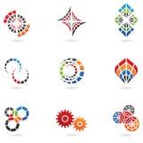 Emblemen voor uw firmanaam Royalty-vrije Stock Afbeeldingen