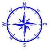 Emblemet av kompasset steg. Royaltyfri Fotografi