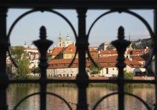 emblemEuropa prague för 2009 kyrklig tjeckisk dörrar republik Arkivbild